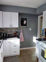 kitchen update new paint stone mason gray paint by valspar