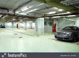 underground garage of the building picture
