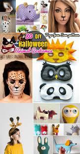 80 diy animal crafts halloween animal costumes mask and stuffed