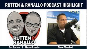 motivation at its best rutten ranallo podcast with steve maraboli