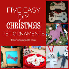 diy pet ornaments tree hugging pets the all