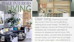 aga in modern kitchen o u0027driscoll kitchens feaure in image interiors u0026 living jan feb