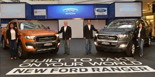 Ford Ranger Work Truck - topgear malaysia facelift ranger launched