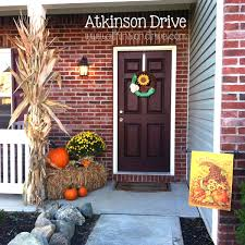Outdoor Thanksgiving Decorations by Outdoor Fall Decor Fall Decor Outdoor Fall Decorations And