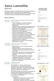Clinical Research Coordinator Resume Sample by Human Resources Coordinator Resume Samples Visualcv Resume