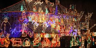 Christmas Lights On House by Crazy Outdoor Christmas Lights At Womansday Com Photos Of