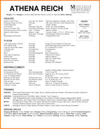 Child Actor Resume Sample Sample Acting Resume Template Pdf Sample Acting Resume Acting