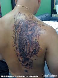 carp fish tattoo black ink tribal koi fish tattoo tattoobite com