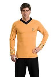 Conehead Costume Star Trek Classic Deluxe Captain Kirk Shirt