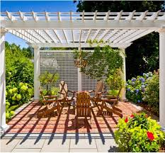 Patio Cover Plans Free Standing by Pergola And Patio Covers Freestanding But Protected Structures