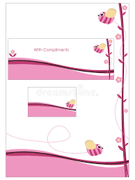 what compliments pink pink stationery set stock vector illustration of cute 14190699