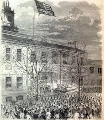 Flag Of Philadelphia Lincoln In Philadelphia February 1861