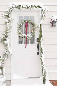 decorate home for christmas home for christmas using fresh garlands and greenery and simple
