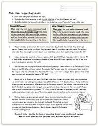 115 best teaching main idea images on pinterest teaching main