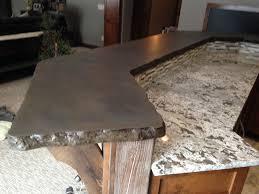 How To Build A Concrete Bar Top Concrete Kitchen Countertops Minneapolis Mn Living Stone