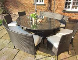 balmoral all weather rattan dining set oval table and 10 seat
