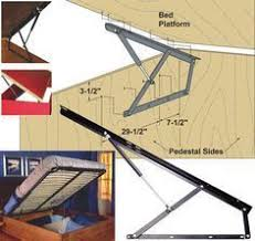 Build Platform Bed Storage Under by Soft Closing Platform Bed Storage Lifts Gas Spring Mechanism