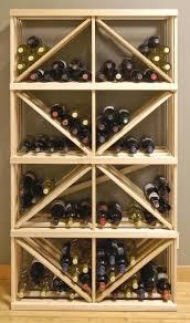 wine rack box diamond bin bulk storage can so see this as a diy