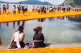 Floating Piers by A Walk On Lake Iseo On Christo U0027s U201cthe Floating Piers U201d U2013 The