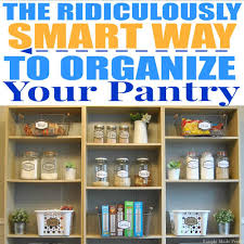 how to organize and simplify your kitchen pantry simple made pretty