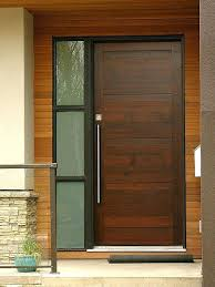 Wood Exterior Entry Doors Wood Entry Door Contemporary Front Door Found On Digs Wood