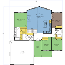 red lake floor plan 3 beds 2 baths 1657 sq ft wausau homes