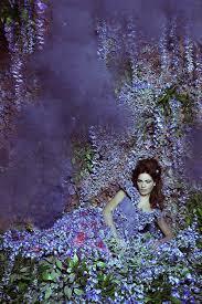 women portraits in gardens of flowers u2013 fubiz media