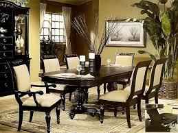 black pedestal dining room table