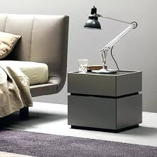 White Gloss Side Table Kitchen White Bedside Tables Modern Click The Above Image To
