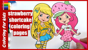 strawberry shortcake coloring pages kids colouring pages from