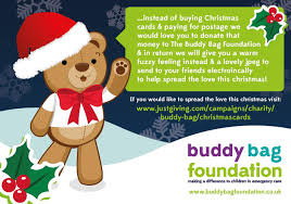 christmas cards justgiving
