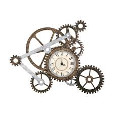 steampunk clock fun u0026 fashionable home accessories and decor