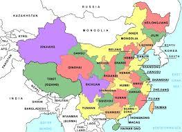 map of china maps china political map