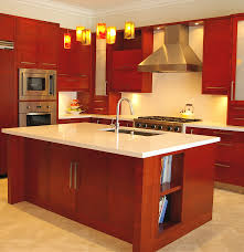 Kitchen Designs For L Shaped Rooms L Shaped Kitchen Design Ideas Teresas Family Fabulous Red Maroon