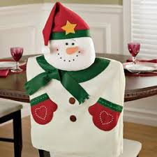 snowman chair covers 33 best images on christmas decor merry