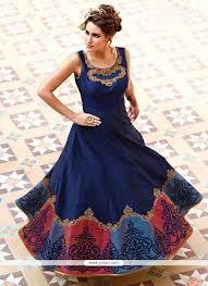buy pretty art silk designer gown gowns