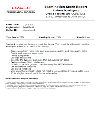 Oracle Dba Sample Resumes by Oracle Resume Free Resume Example And Writing Download