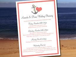 destination wedding itinerary wedding itinerary template wedding planner anchor