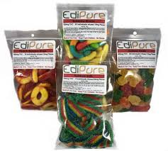 edible thc products edipure edible candy 500mg thc 4 flavors bud oc