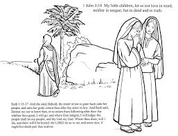 100 ideas coloring pages for ruth and naomi on emergingartspdx com
