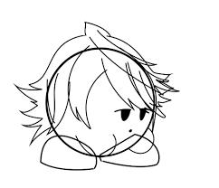 Emo Hairstyles Drawings by Emo Corrin Kirby Drawing Thing Smash Amino
