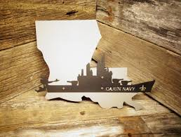 louisiana cajun navy wall art