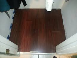 How To Install Laminate Flooring Under Door Jambs I U0027m Not A Carpenter I Just Act Like One Young Fun Business