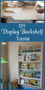 Display Bookcase For Children Diy Easy Display Bookcase Project How To Make A Display Bookcase