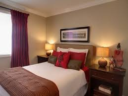 White Bedroom Decorations - red and brown bedroom decorating ideas photos and video
