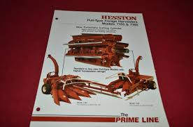 hesston 7155 7165 forage harvester dealer u0027s brochure dcpa2