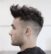 mens haircuts with spiked front 50 haircuts for guys with round faces