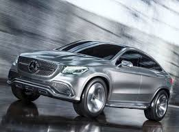 mercedes concept coupe suv hints at model kelley blue book