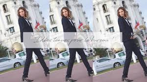 tenue de bureau atode idée tenue bureau femme business chic et moderne