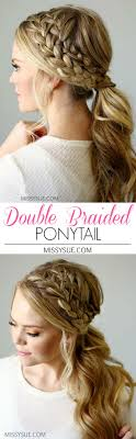ponytail hairstyles for 30 simple easy ponytail hairstyles for lazy girls ponytail ideas